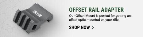 Offset Rail Adapter on light background