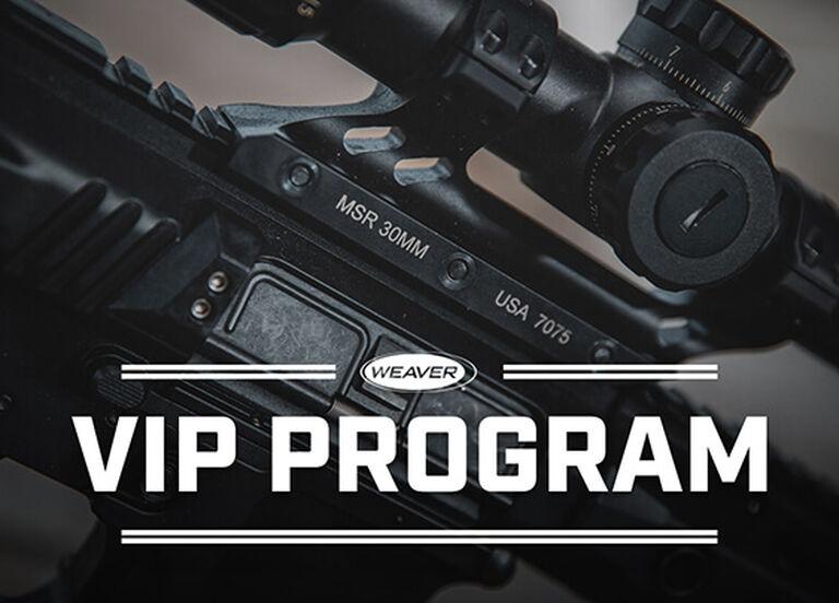 Weaver Premium MSR Optics Mount mounted on a rifle