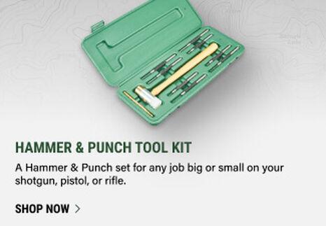Hammer & Punch Tool Kit on light background