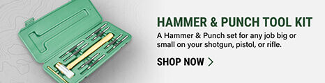 Hammer & Punch Tool Kit on light background