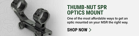 Thumb-Nut SPR Optics Mount on light background