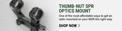 Thumb-Nut SPR Optics Mount on light background