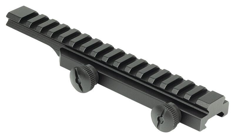 Thumb-Nut Riser Rail