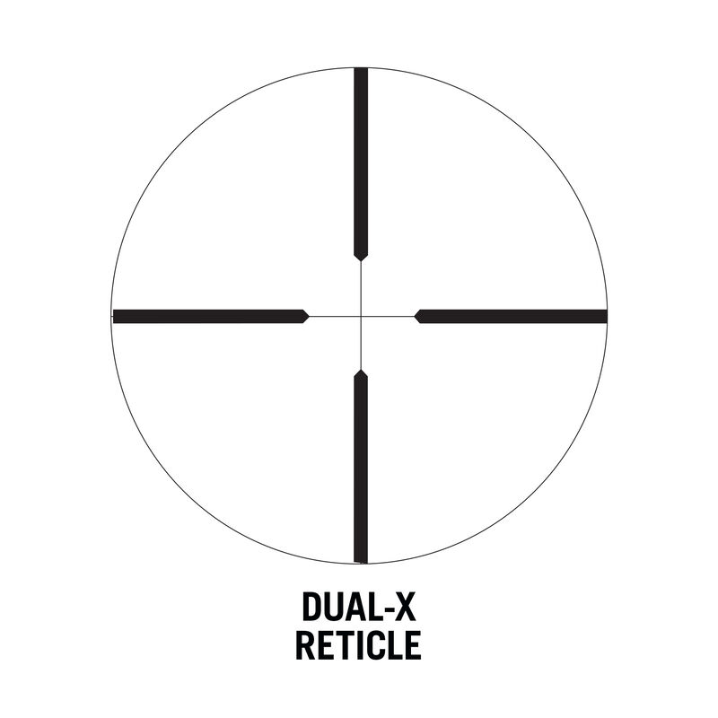 "Classic Series Rifle Scope - 3-9x40 Rimfire SFP Dual-X 1"""