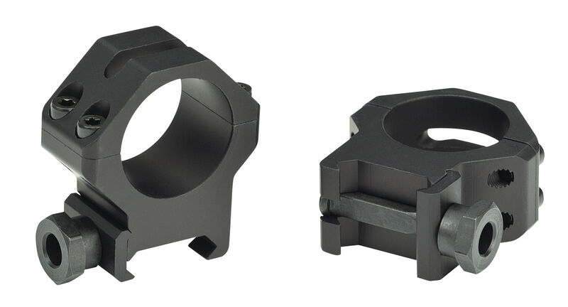 Four-Hole Picatinny Rings