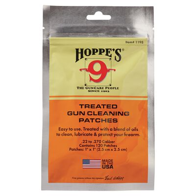 .22 Treated Gun Cleaning Patches