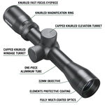 "Classic Series Handgun Scope 2-6x32 SFP Dual-X 1"" LER"
