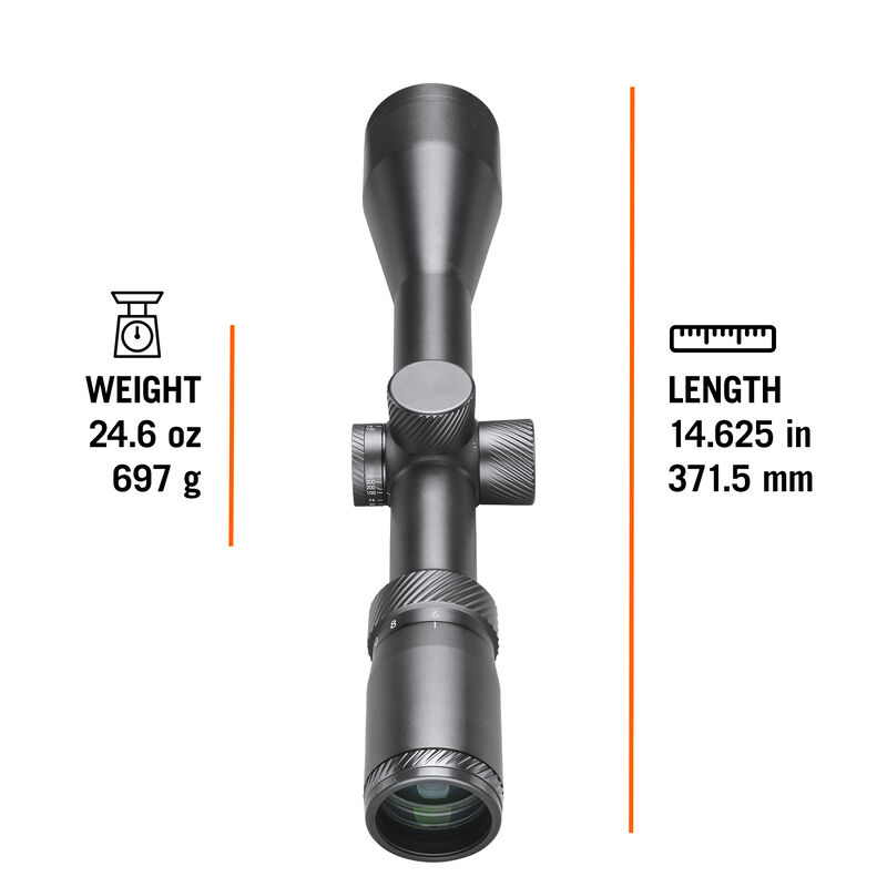 Classic Series Rifle Scope - 6-24x50 SFP Dual-X 30mm